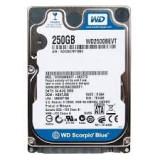 Hard Disk HDD Laptop 250 GB Western Digital WD SATA 2, 5, 200-299 GB, Rotatii: 5400, 8 MB
