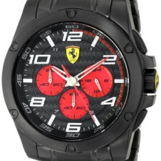 Scuderia Ferrari 0830037 'Paddock' Chronograph   100% original, import SUA, 10 zile lucratoare a32207 - Ceas barbatesc Ferrari, Casual, Quartz