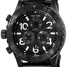 Nixon 42-20 Chrono Black Dial | 100% original, import SUA, 10 zile lucratoare a32207 - Ceas barbatesc Nixon, Quartz