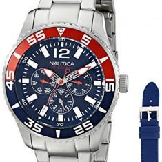 Nautica Men's NAD16503G NST 07 | 100% original, import SUA, 10 zile lucratoare a22207 - Ceas barbatesc Nautica, Quartz