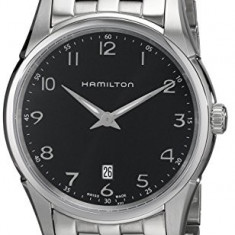 Hamilton Men's HML-H38511133 Jazzmaster Thinline | 100% original, import SUA, 10 zile lucratoare a32207 - Ceas barbatesc Hamilton, Quartz