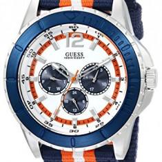 GUESS Men's U0454G1 Iconic Blue | 100% original, import SUA, 10 zile lucratoare a12107 - Ceas barbatesc Guess, Quartz