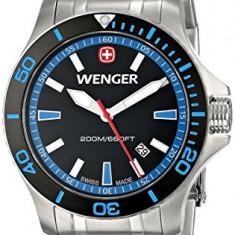 Wenger Men's 0641 106 Sea | 100% original, import SUA, 10 zile lucratoare a22207 - Ceas barbatesc Wenger, Quartz