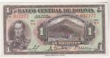 Bnk bn Bolivia 1 peso boliviano 1928 xf