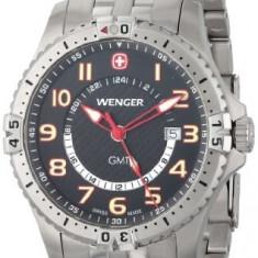 Wenger Men's 77076 Squadron GMT | 100% original, import SUA, 10 zile lucratoare a22207