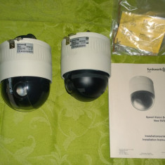 Lot 2x Camere Profesionale CCTV Speed Vision Dome SVD206 zoom 27X Functionale!! - Camera CCTV, Interior, Cu fir, Analogic, Color