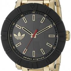 Adidas Men's ADH3003 Amsterdam Gold-Tone   100% original, import SUA, 10 zile lucratoare a22207 - Ceas barbatesc Adidas, Sport