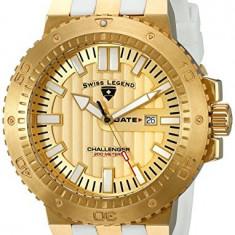 Swiss Legend Men's 10126-YG-010-WHT Challenger | 100% original, import SUA, 10 zile lucratoare a12107 - Ceas barbatesc Swiss Legend, Quartz