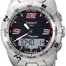 Tissot Men's T0134201105700 T-Touch Expert | 100% original, import SUA, 10 zile lucratoare a32207 - Ceas barbatesc Tissot, Quartz