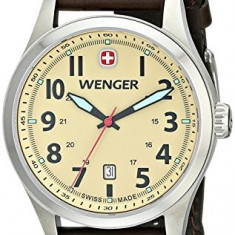 Wenger Men's 0541 108 Analog | 100% original, import SUA, 10 zile lucratoare a12107, Casual, Quartz