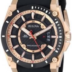 Bulova Men's 98B152 Precisionist Rubber | 100% original, import SUA, 10 zile lucratoare a32207 - Ceas barbatesc Bulova, Quartz