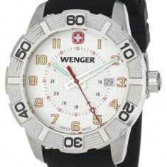 Wenger Roadster White Dial Black | 100% original, import SUA, 10 zile lucratoare a22207 - Ceas barbatesc
