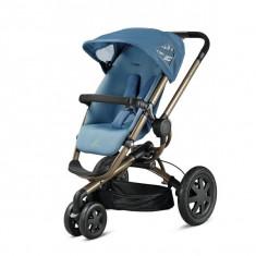 Carucior Quinny Buzz 3, 0+ luni, max.15 Kg, Blue Charm - Carucior copii 2 in 1