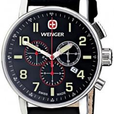 Wenger Men's 01 1243 104 | 100% original, import SUA, 10 zile lucratoare a32207, Quartz