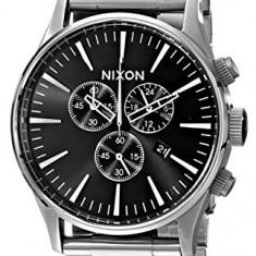 Nixon Men's A386000 Sentry Chrono | 100% original, import SUA, 10 zile lucratoare a32207 - Ceas barbatesc Nixon, Quartz