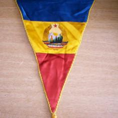 MCF - FANION - NATIONALA - FEDERATIA ROMANA DE FOTBAL - COMUNIST - CU STEMA RSR - Fanion fotbal