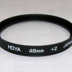 Filtru marire Hoya +2 49mm - Filtru foto