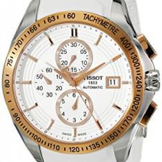 Tissot Men's T0244272701100 Velco-T Gold-Tone Stainless | 100% original, import SUA, 10 zile lucratoare af22508 - Ceas barbatesc