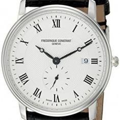 Frederique Constant Men's FC-245M5S6 Slim | 100% original, import SUA, 10 zile lucratoare a32207 - Ceas barbatesc Frederique Constant, Quartz