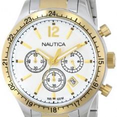 Nautica Men's N19617G BFD 104 | 100% original, import SUA, 10 zile lucratoare a22207 - Ceas barbatesc Nautica, Quartz
