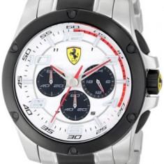 Ferrari Men's 830034 Analog Display   100% original, import SUA, 10 zile lucratoare a32207 - Ceas barbatesc Ferrari, Lux - sport, Quartz