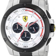 Ferrari Men's 830034 Analog Display | 100% original, import SUA, 10 zile lucratoare a32207 - Ceas barbatesc Ferrari, Lux - sport, Quartz