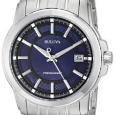 Bulova Men's 96B159 Precisionist Round | 100% original, import SUA, 10 zile lucratoare a22207 - Ceas barbatesc Bulova, Quartz