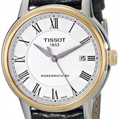 Tissot Men's T0854072601300 Carson Analog | 100% original, import SUA, 10 zile lucratoare a32207 - Ceas barbatesc Tissot, Casual, Mecanic-Automatic