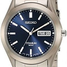 Seiko Men's SGG709 Titanium Watch | 100% original, import SUA, 10 zile lucratoare a22207 - Ceas barbatesc