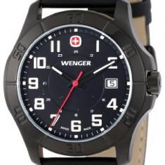 Wenger Men's 70475 Alpine Black | 100% original, import SUA, 10 zile lucratoare a22207 - Ceas barbatesc