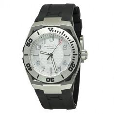 Hamilton Men's H39515733 Valiant Black | 100% original, import SUA, 10 zile lucratoare a32207 - Ceas barbatesc Hamilton, Elegant, Mecanic-Automatic