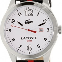 Lacoste Men's 2010723 Auckland Stainless | 100% original, import SUA, 10 zile lucratoare a22207 - Ceas barbatesc Lacoste, Quartz