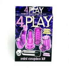 4 Play set de jucarii erotice pentru cuplu
