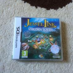 Joc Nintendo DS Jewel Link Atlantic Quest compatibil DSI/DS/3DS/2DS/DSI XL - Jocuri Nintendo DS