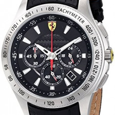 Ferrari Men's 0830039 Scuderia Analog | 100% original, import SUA, 10 zile lucratoare a32207 - Ceas barbatesc Ferrari, Quartz
