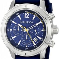 Nautica Men's N17652G Stainless Steel | 100% original, import SUA, 10 zile lucratoare a22207 - Ceas barbatesc Nautica, Quartz, Otel