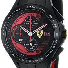 Ferrari Men's 0830077 Race Day | 100% original, import SUA, 10 zile lucratoare a32207 - Ceas barbatesc Ferrari, Quartz