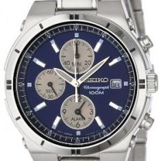 Seiko Men's SNA695 Alarm Chronograph | 100% original, import SUA, 10 zile lucratoare a22207 - Ceas barbatesc