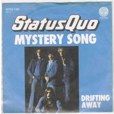 "Status Quo - Mystery song (1976, Vertigo) vinil single 7"" - Muzica Rock"