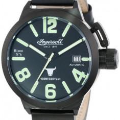 Ingersoll Men's IN8900BBK Bison Automatic | 100% original, import SUA, 10 zile lucratoare a32207 - Ceas barbatesc Ingersoll, Casual, Mecanic-Automatic