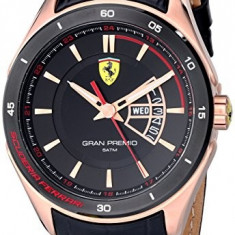 Ferrari Men's 0830185 Gran Premio | 100% original, import SUA, 10 zile lucratoare a32207 - Ceas barbatesc Ferrari, Quartz