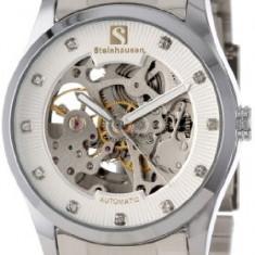 Steinhausen Men's TW8372S Brahms Automatic   100% original, import SUA, 10 zile lucratoare a32207 - Ceas barbatesc, Casual, Mecanic-Automatic