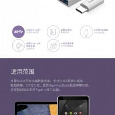 Cablu USB Type-C 3.0 la Female USB 5Gbps White by Yoobao - Cablu de date Yoobao, Universala