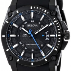 Bulova Men's 98B142 Precisionist Black | 100% original, import SUA, 10 zile lucratoare a32207 - Ceas barbatesc Bulova, Quartz