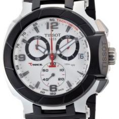 Tissot Men's T0484172703700 T-Race Quartz | 100% original, import SUA, 10 zile lucratoare a32207 - Ceas barbatesc