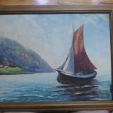 Pictura in ulei (marin)