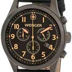 Wenger Men's 0543 104 Analog | 100% original, import SUA, 10 zile lucratoare a22207 - Ceas barbatesc Wenger, Quartz