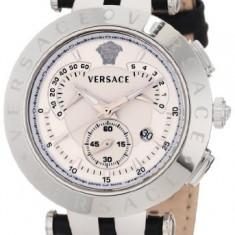 Versace Men's 23C99D002 S009 V-Race | 100% original, import SUA, 10 zile lucratoare a32207 - Ceas barbatesc Versace, Lux - sport