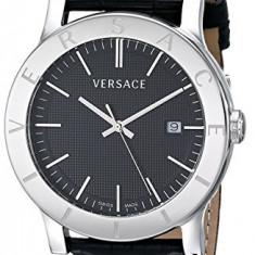 Versace Men's VQB020000 Acron Stainless | 100% original, import SUA, 10 zile lucratoare a32207 - Ceas barbatesc Versace, Lux - sport