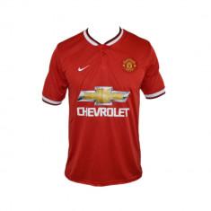 Tricou Nike Manchester United Falcao Model De Colectie Cod Produs E517 - Tricou barbati Nike, Marime: XL, Culoare: Rosu, Maneca scurta, Microfibra